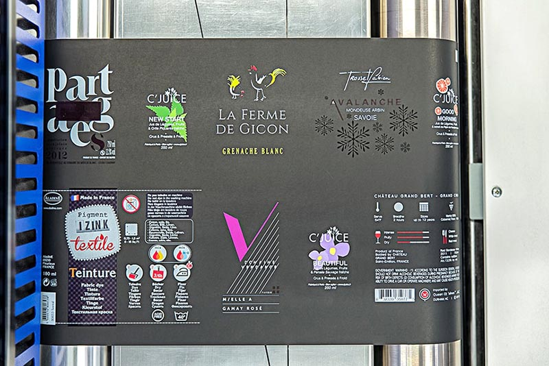 Prototypage étiquettes adhésives Rhône-Alpes