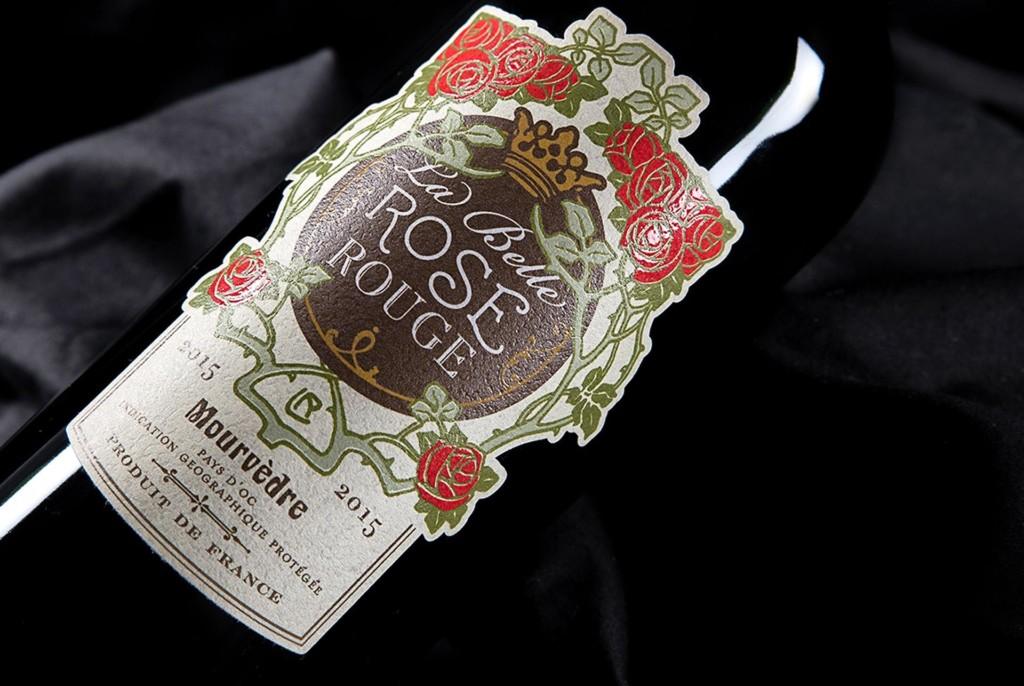 Etiquettes Vin Rose Rouge Rhône-Alpes